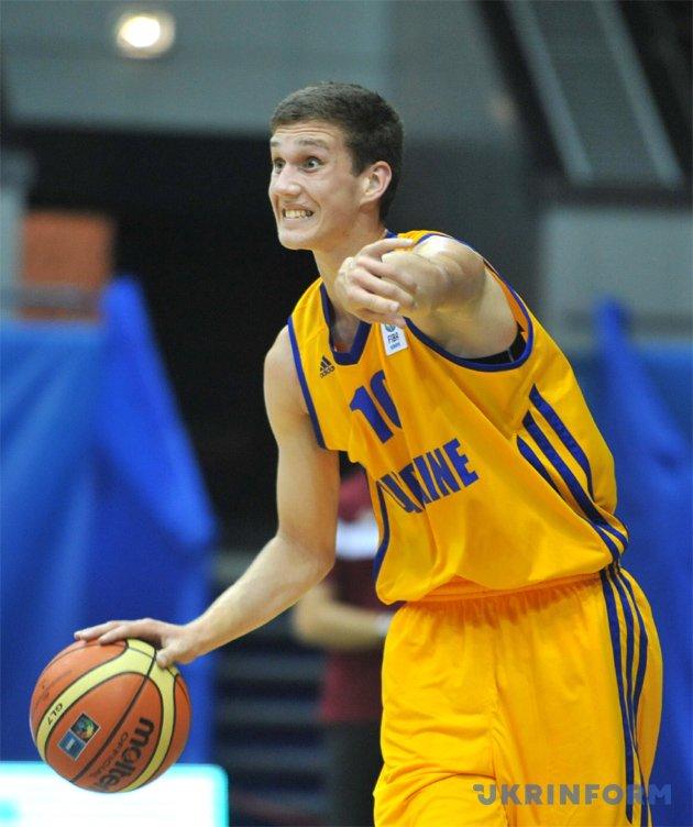 Украинец Михайлюк выставил свою кандидатуру надрафт НБА