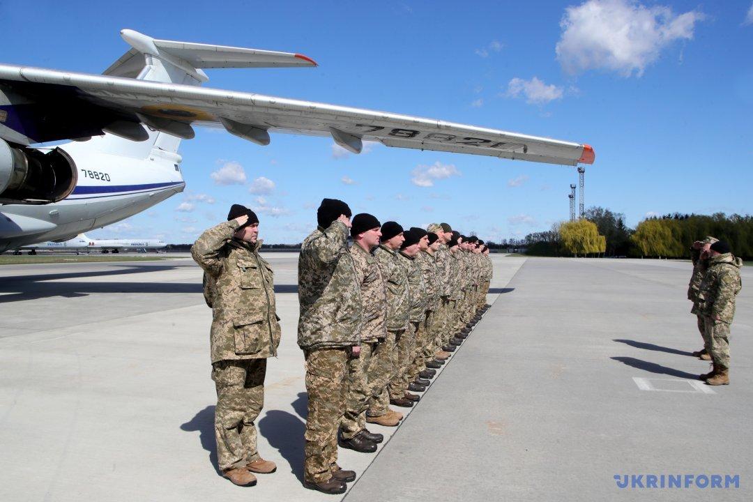 Українські військові авіатори – учасники українсько-данської операції