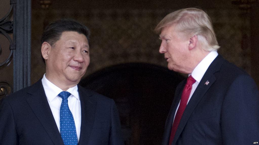 Президент Китаю Сі Цзіньпін і президент Сполучених штатів Америки Дональд Трамп