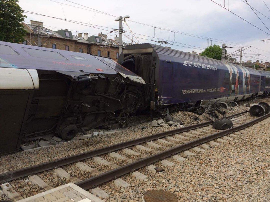 ВАвстрии навокзале вВене столкнулись два поезда, есть пострадавшие