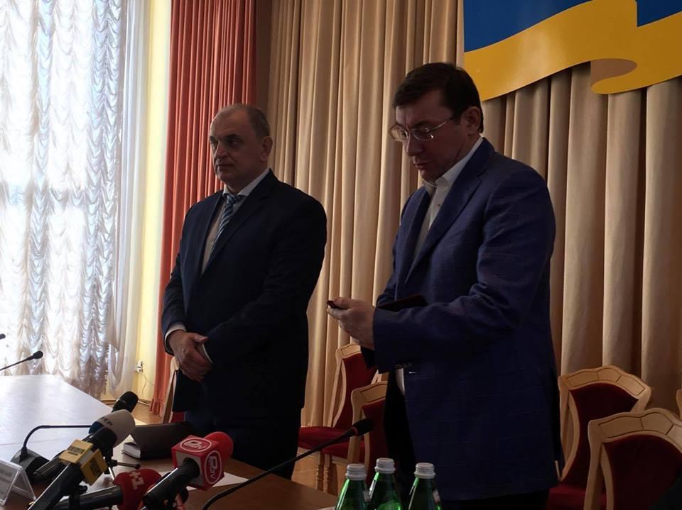 Луценко назначил прокурором Черновицкой обл. Олега Соболя