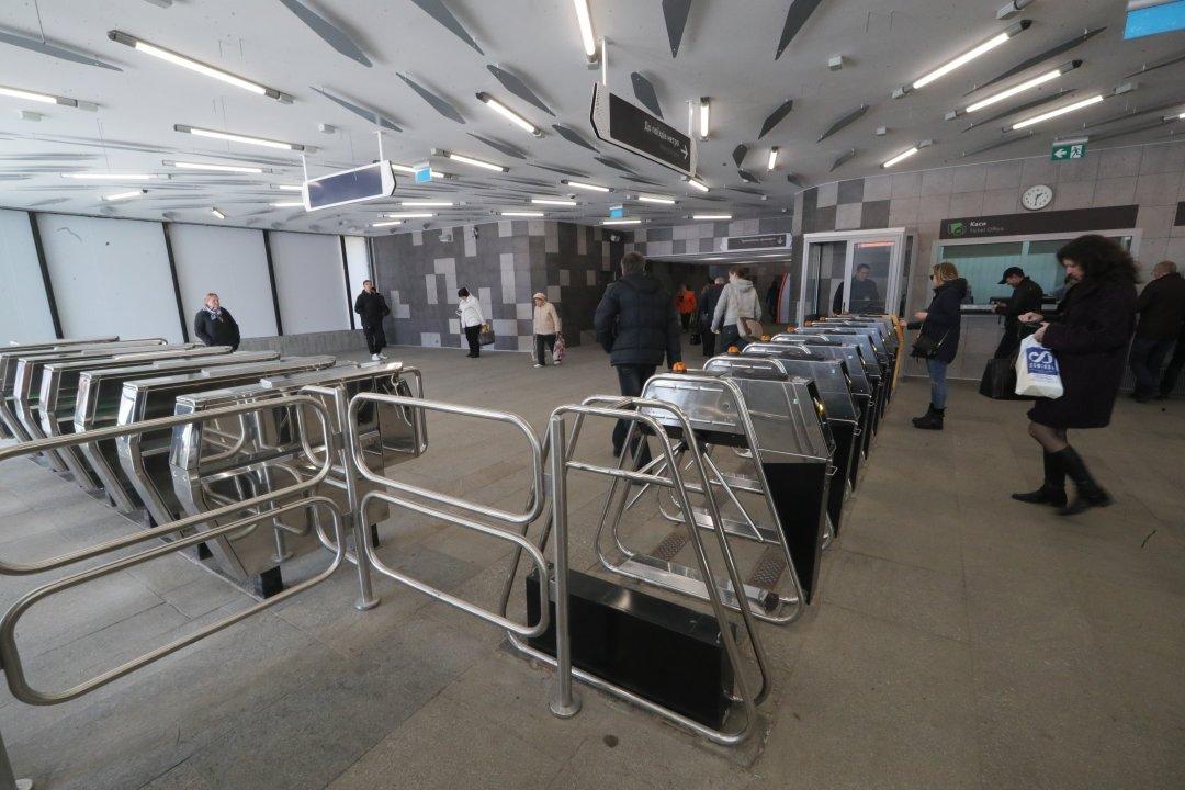 Відремонтований вестибюль станції метро Лівобережна // Фото: Павло Багмут. Укрінформ