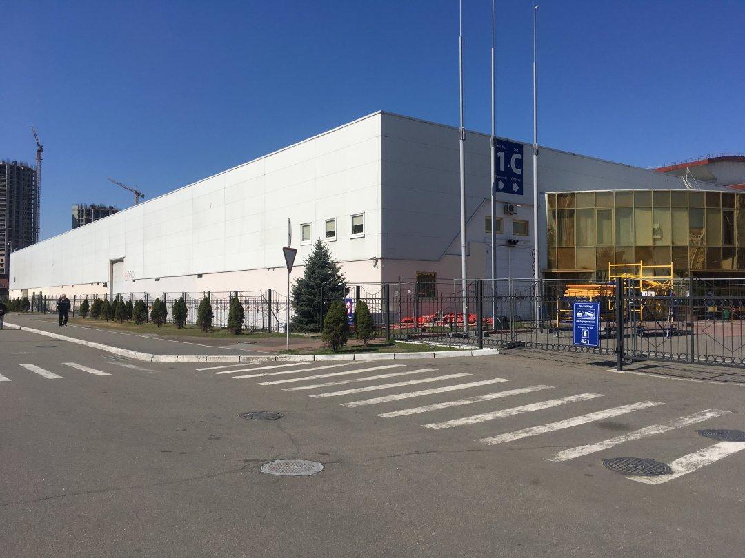 Київський міжнародний виставковий центр – місце проведення Євробачення // Фото: Мирослав Ліскович. Укрінформ