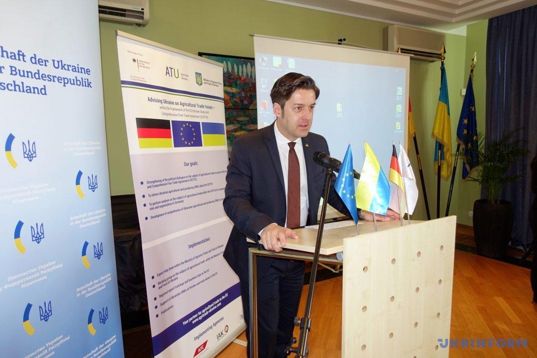 Руководитель Agritrade Ukraine Андре Пиллинг. Фото: Ольга Танасійчук