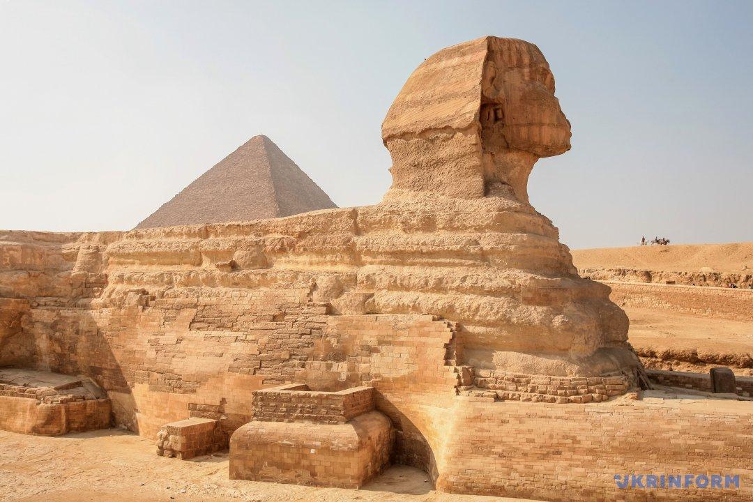 Сфінкс та піраміди. Фото: Альона Николаєвич