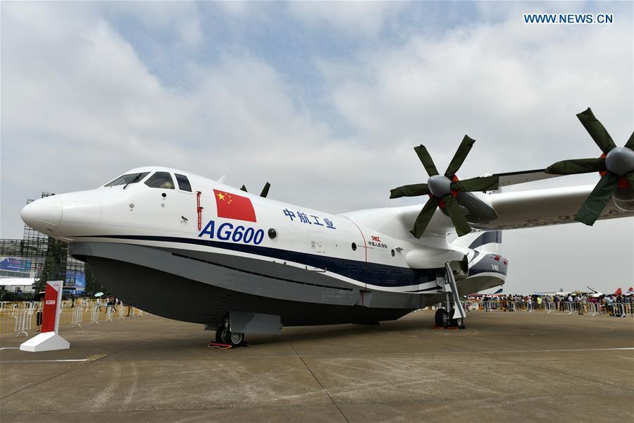 Найбільший у світі літак-амфібія пройшов наземне випробування