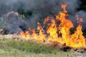 В Украине сохраняется чрезвычайная пожарная опасность