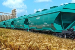 Укрзализныця в прошлом году перевезла более 35 миллионов тонн зерна