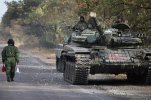 """ОБСЄ зафіксувала поблизу селища Лутугине 11 танків та гаубицю """"Гіацинт С"""""""