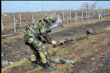 Emergency Service: 128 explosive devices disposed in Donetsk region