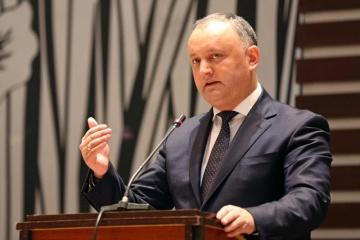 У Молдові хочуть провести референдум щодо відставки Додона