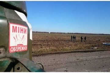 Invaders lay banned mines along contact line in Donbas
