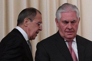 Tillerson, Lavrov discuss Ukraine, Syria
