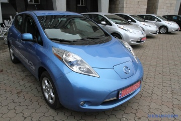 Ukrainer kauften 2018 5300 Elektroautos