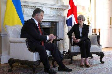 波罗申科与梅讨论联合反抗俄罗斯侵略