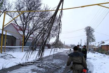 Over 90 towns and villages in two regions of Ukraine still without electricity