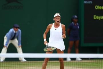 Yastremska climbs 36 spots in WTA ranking