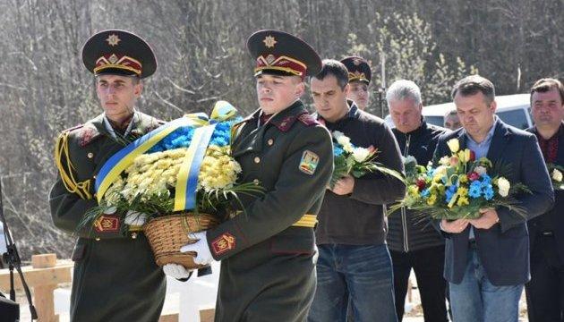 Пам'ять січовиків Карпатської України вшанували на Львівщині