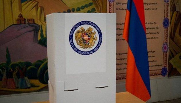 До парламенту Вірменії проходять чотири партії