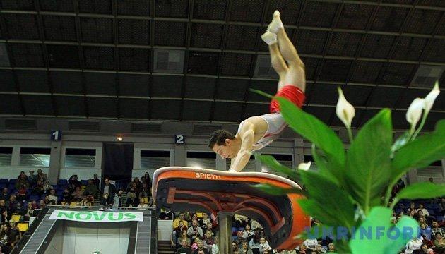 XV Ukraine International Cup artistic gymnastics tournament held in Kyiv. Photos
