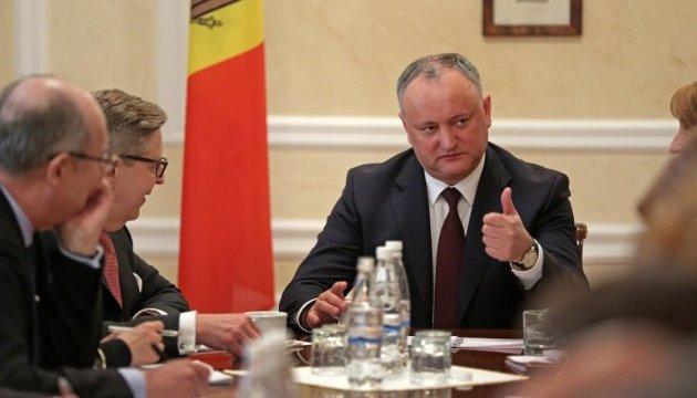 Додон хочет смешанную систему парламентских выборов в Молдове