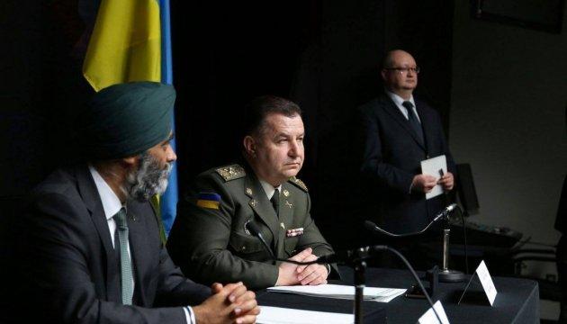 Полторак: Оборонна співпраця між Канадою та Україною є взаємовигідною