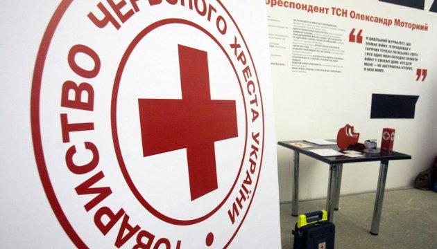 Red Cross sent 10 tons of humanitarian aid to Luhansk