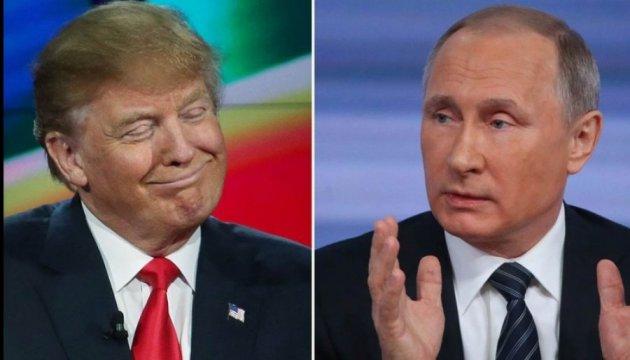 В Белом доме рассказали, о чем говорили Трамп и Путин
