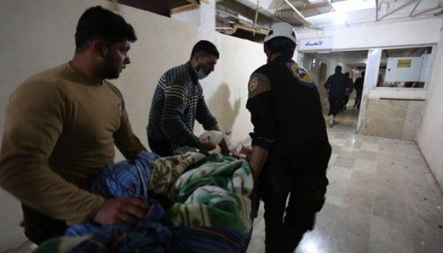 ВОЗ бьет тревогу из-за ситуации в Идлибе после химатаки Асада