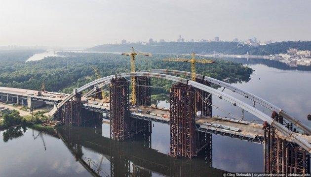 Віталій Кличко разом з німецькими посадовцями оглянули Подільсько-Воскресенський міст