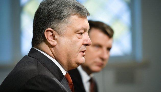 Порошенко рассказал о вариантах противодействия российской пропаганде