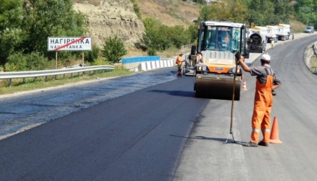 PM Groysman checks road repair in three regions of country today