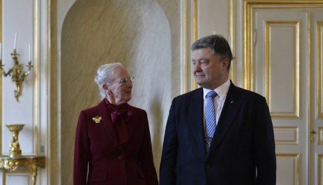 Україна може розраховувати на підтримку Данії – Королева Маргрете ІІ