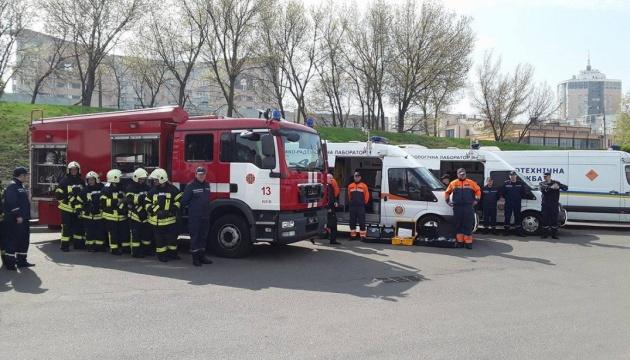 Kein Grund für Panik: Sirenenalarm wegen Katastrophenschutzübung in Kyjiw