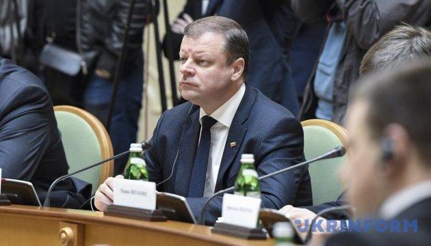 Nord Stream 2: Литва підтримує позицію Києва і Варшави – прем'єр