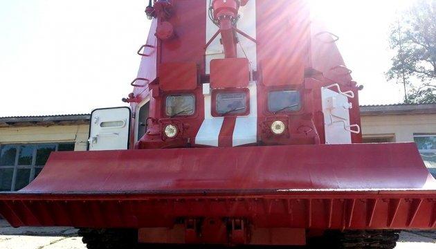 В Україні випробували новий вітчизняний пожежний танк ГПМ-72