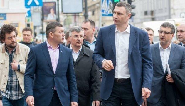 Віталій Кличко хоче зробити Контрактову площу туристичною перлиною