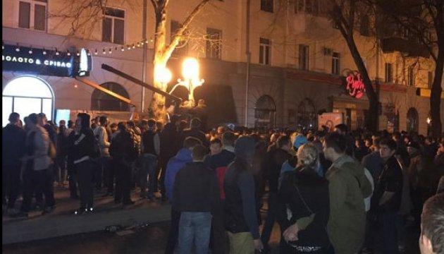 У Полтаву у зв'язку з силовим конфліктом прибули представники місії ОБСЄ
