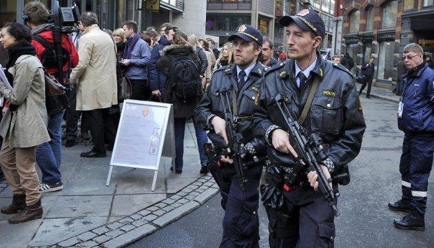 Норвезькій поліції у великих містах роздадуть зброю