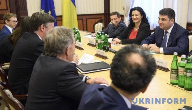 Гройсман - представникам ЄП: Україна продовжить реформи на шляху до євроінтеграції