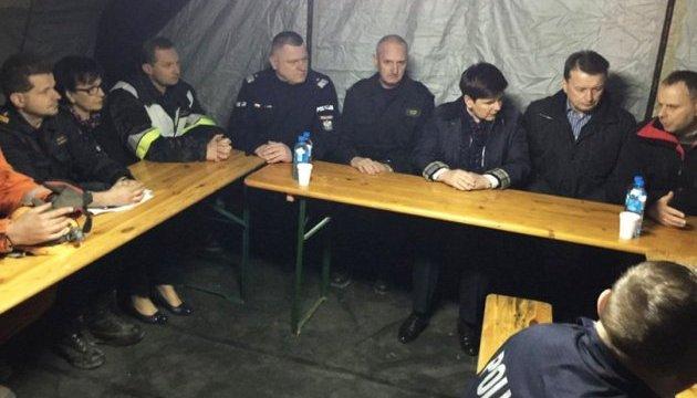 Обвал будинку в Польщі: кількість жертв збільшилася, на місце прибула глава уряду