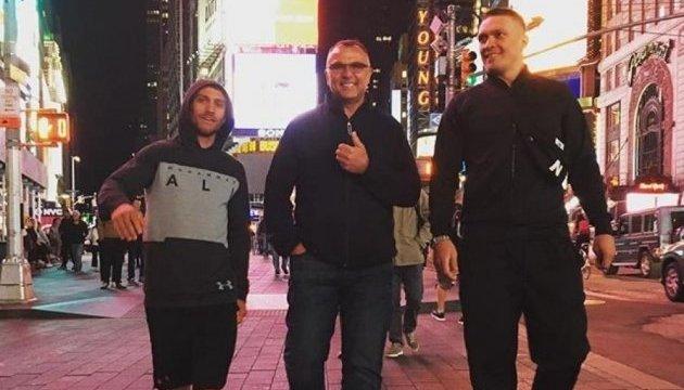 Менеджер Гвоздика та Усика назвав суперників українських боксерів