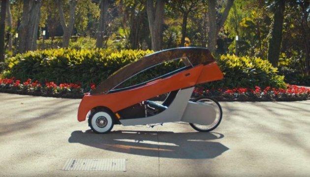 Італієць розробив дерев'яний електровелосипед