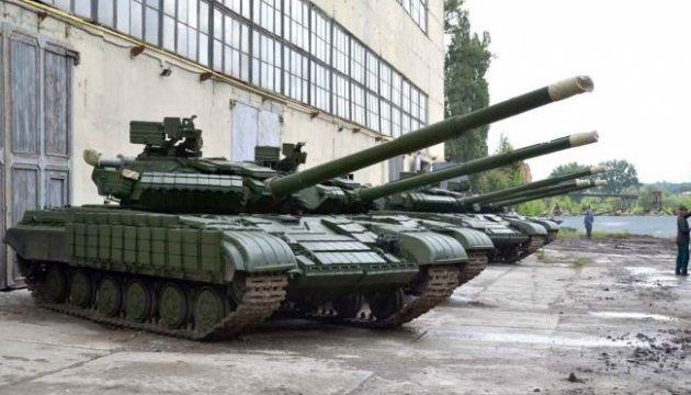 Foto, Video: Panzerwekr Charkiw zeigt Tests von repartienten Panzern