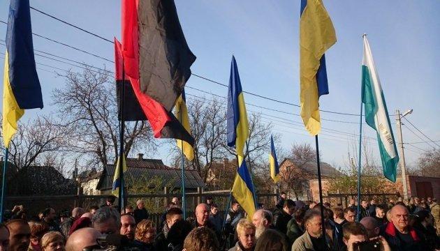 Полтавські активісти приїхали до мера, а він - у відрядженні