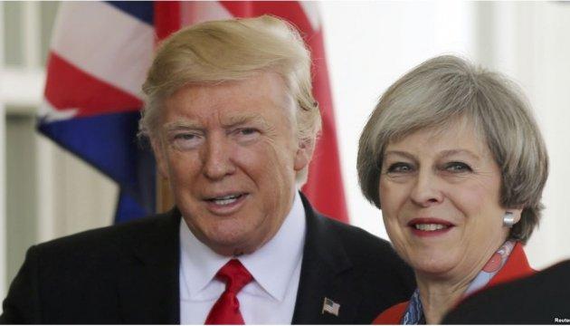 Трамп і Мей хочуть переконати Путіна не підтримувати Асада