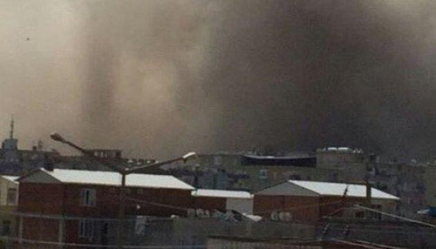 У Діярбакирі біля поліцейської школи пролунав потужний вибух, багато поранених