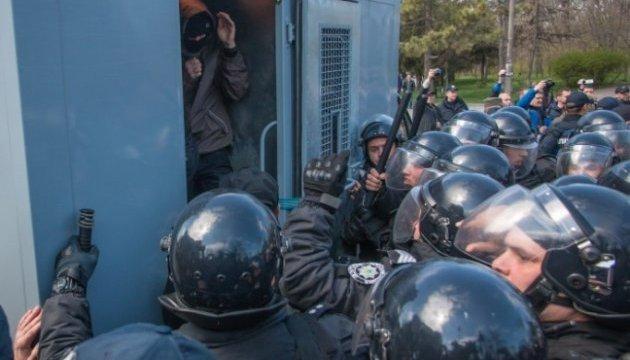 Одеська поліція проведе внутрішнє розслідування щодо подій на Алеї Слави