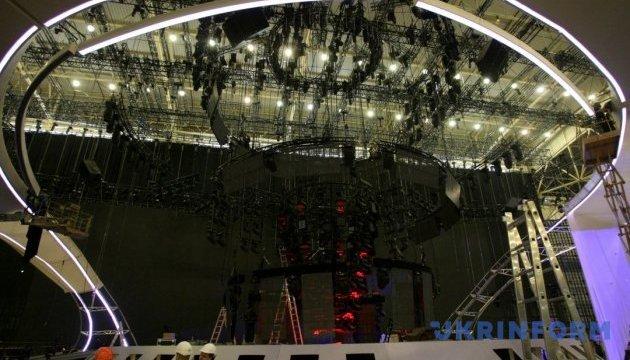 Головна сцена Євробачення буде готова до 20 квітня
