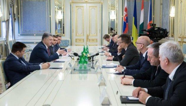 Порошенко обговорив з європейськими міністрами взаємодію в рамках НАТО